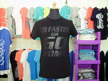 Art-T-Shirts Go Faster Or Go Home